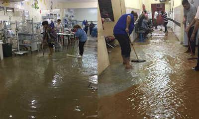 Hospital de Calle'i de San Lorenzo bajo agua – Prensa 5