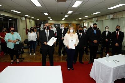 Ministerio Público y Consejo de Seguridad y Comisiones Vecinales, celebraron convenio de cooperación