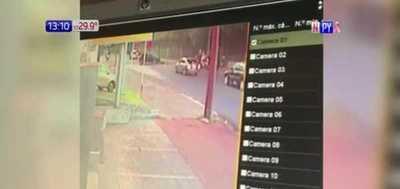 Conductor de Uber protagoniza grave accidente