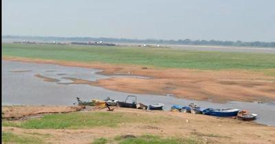 El río Paraguay podría llegar hasta los 70 cm por debajo del cero hidrométrico