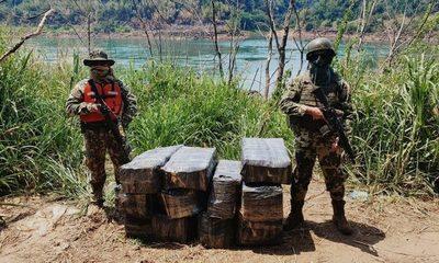 Incautan mercaderías de contrabando a orillas del Paraná