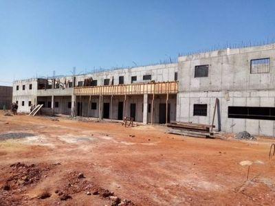 Una de las penitenciarias construidas en Emboscada se aproxima al 40% de ejecución