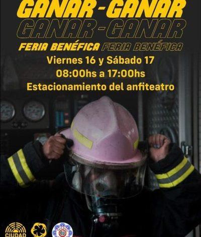 Organizan feria para ayudar a micro-emprendedores y a bomberos