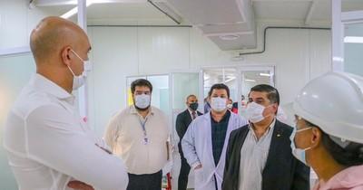 La Nación / Pabellón de contingencia del Hospital de Lambaré se inaugura este miércoles