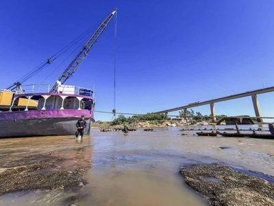 Navegación por el río Paraguay de Asunción hacia el norte ya no es posible