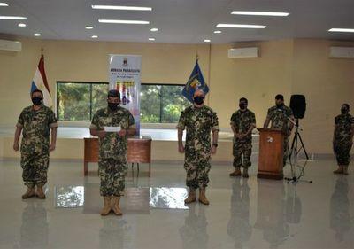 Cambio de timonel en el Área Naval de Itapúa