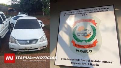 PRESUMEN QUE AUTOMÓVIL HURTADO EN CNEL BOGADO, IBA A SER UTILIZADO EN ASALTOS