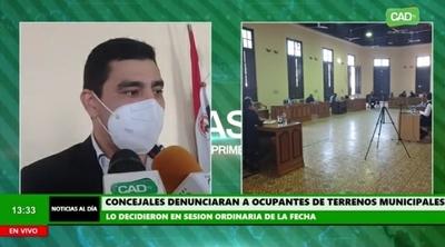 Concepción: Concejales denunciarán ante la Fiscalía las ocupaciones ilegales