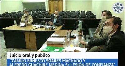 La Nación / Confirman condena de 5 años a Camilo Soares y de 3 años 9 meses a Alfredo Guachiré