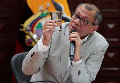 La Fiscalía de Ecuador presenta caso petrolero contra el exvicepresidente Glas