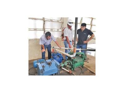 Essap aún no recibe  bombas de agua de mayor capacidad