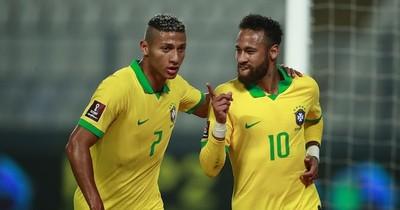 La Nación / Neymar pone líder a Brasil