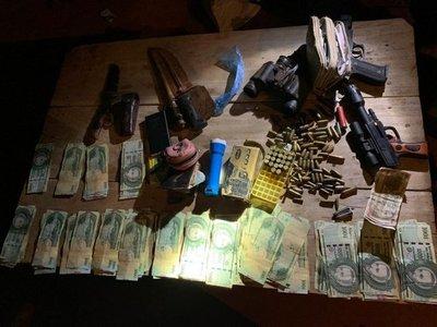Tres detenidos tras asalto tipo comando en Santa Rosa del Aguaray
