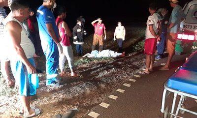 Menor de 15 años fallece en accidente de tránsito