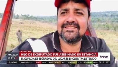 Hallan sin vida a hijo de exdiputado de Caazapá