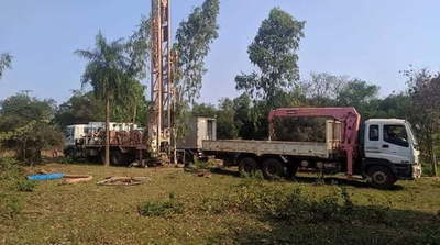 Inician trabajos para excavación de pozo artesiano en nueva Fracción de Caazapá