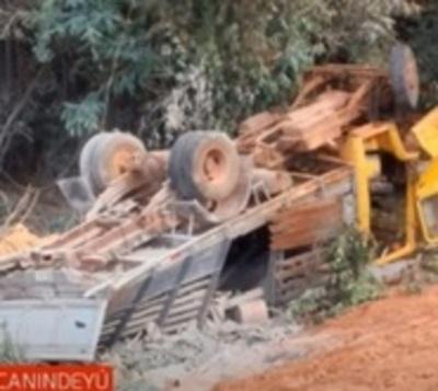Accidente fatal en Curuguaty: Camión cayó a un precipicio