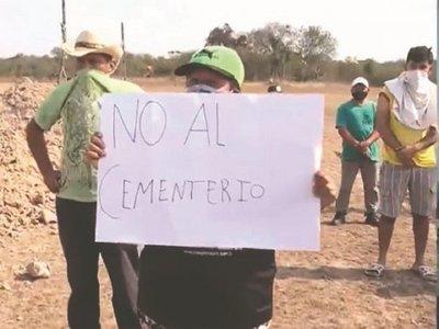 """Cementerio es """"mau"""" y sacarán a dos finados"""