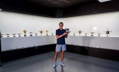 HOY / Nadal deposita su 20º título de Grand Slam en su museo
