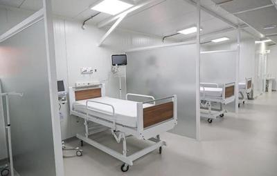 Pabellón de Contingencia Covid-19 fue habilitado en el Hospital de Lambaré