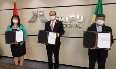 Histórico acuerdo de Itaipú con la UNA y UC para proyecto técnico-científico – Diario TNPRESS
