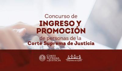 Convocatoria para cargos vacantes en Concepción
