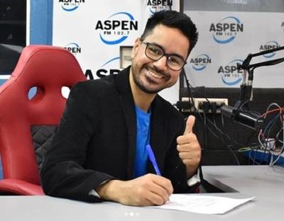 El periodista Jorge Coronel se sumó a radio Aspen
