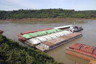 Bajante del río Paraguay amenaza con suba de precios de combustibles