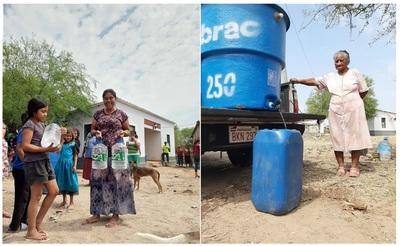 Jóvenes concepciones piden donaciones para proveer agua a comunidades indígenas del Chaco