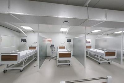 En Hospital de Lambaré fue inaugurado pabellón de contingencia para pacientes con COVID-19