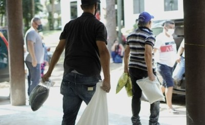Asistencia gubernamental de alimentos para ollas populares no cesan