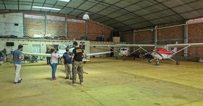 Hallan un cuadernillo con lineamientos políticos en hangar allanado en Aregua