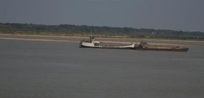 Trabajo de dragado del río Paraguay es cada vez más difícil sin lluvias
