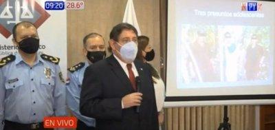 Imputan a integrantes del EPP por el secuestro de Óscar Denis