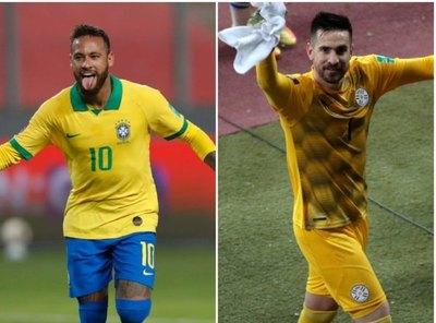 Neymar y Antony Silva encabezan un equipo ideal de Eliminatorias