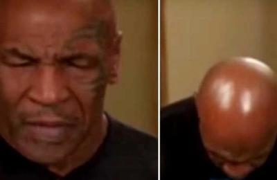 Preocupación por el estado de Mike Tyson: balbucea y se queda dormido en plena entrevista