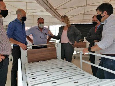 Industria metalúrgica nacional entregó camas para hospitales de contingencia COVID-19