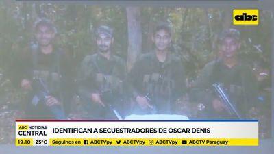 Identifican a secuestradores de Óscar Denis