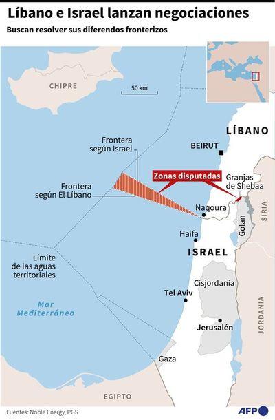 Líbano e Israel inician unas inéditas negociaciones propiciadas por Trump