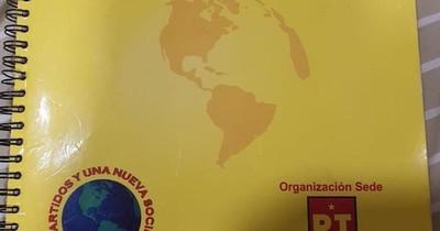 La Nación / Agenda localizada pertenece a ex senador luguista Grillón