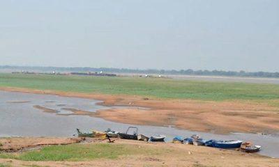 Bajante del río Paraguay pone en peligro abastecimiento de combustible