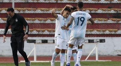 Argentina da vuelta en La Paz y vence a Bolivia