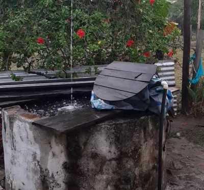 Lluvias en zonas puntuales del Chaco