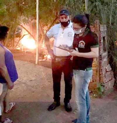 En CDE, pedirán apoyo de la Policía Nacional para identificar a quienes quemen basura