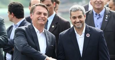 La Nación / Abdo agradeció colaboración de Bolsonaro para reapertura de las fronteras