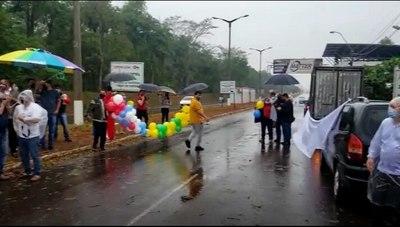 Salto del Guairá celebra reapertura de frontera