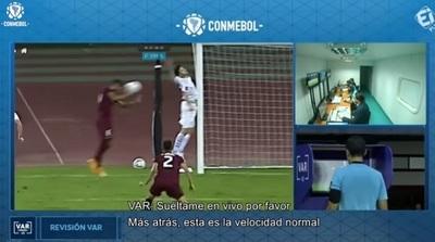 Así fue anulado el gol de Venezuela