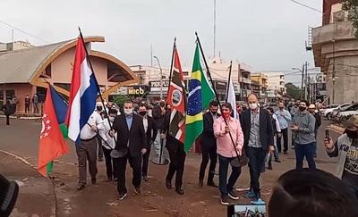 Pedro Juan Caballero también festeja reapertura de paso fronterizo con Brasil: 'Estamos optimistas'