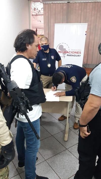 """""""Pingo"""", el expolicía militar brasileño, fue expulsado hoy"""
