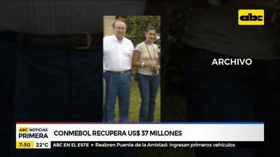 Conmebol recupera USD 37 millones de la cuenta de Nicolás Leoz